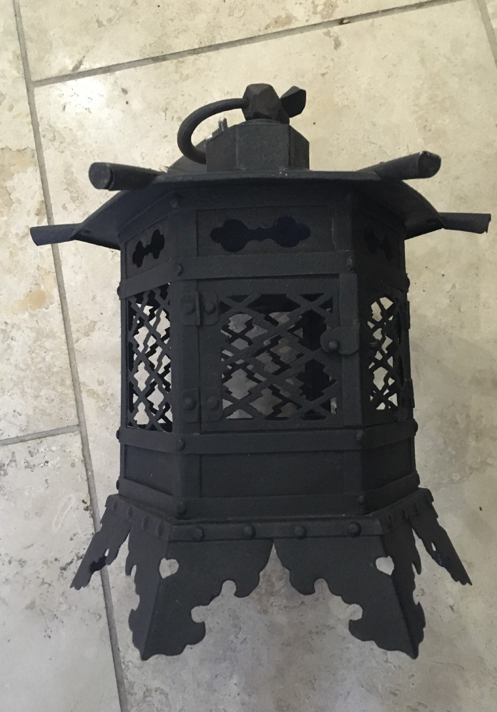 chinoiserie edwardian hall lantern