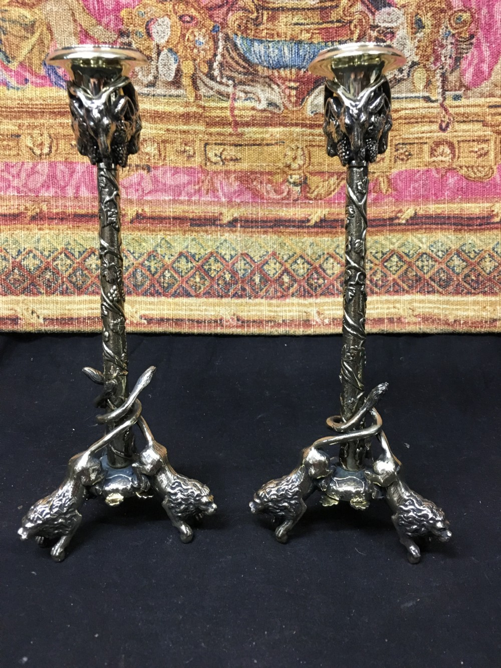 c19th classical pair of candlesticks