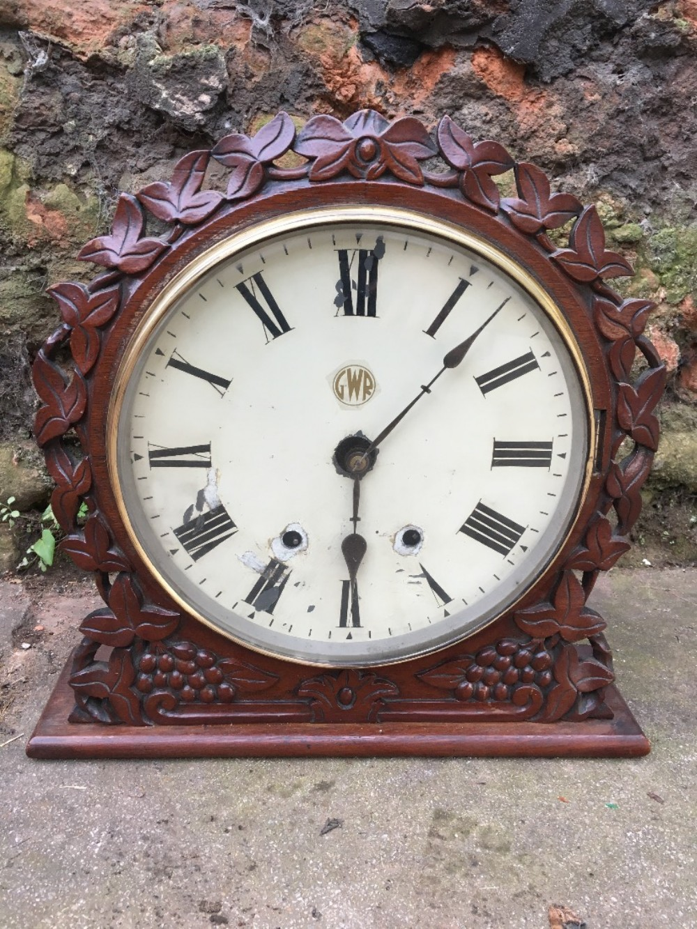 gwr station masters mantle clock