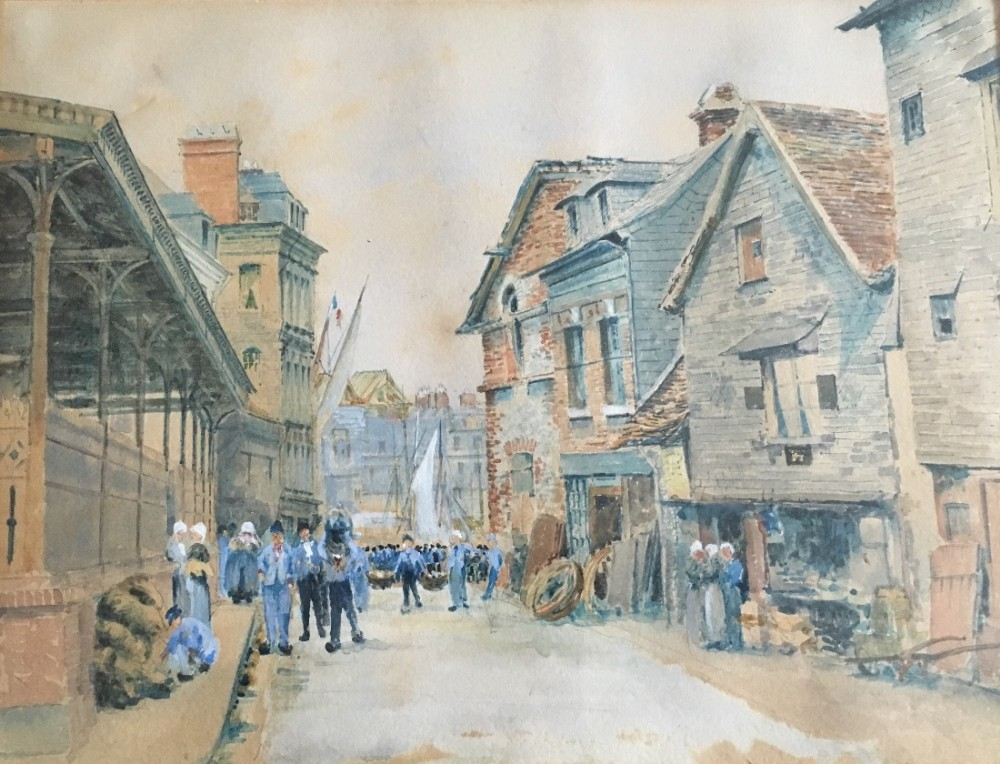 c19th watercolour by j c staples and dated 1881