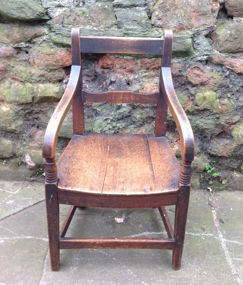 c19th childs armchair