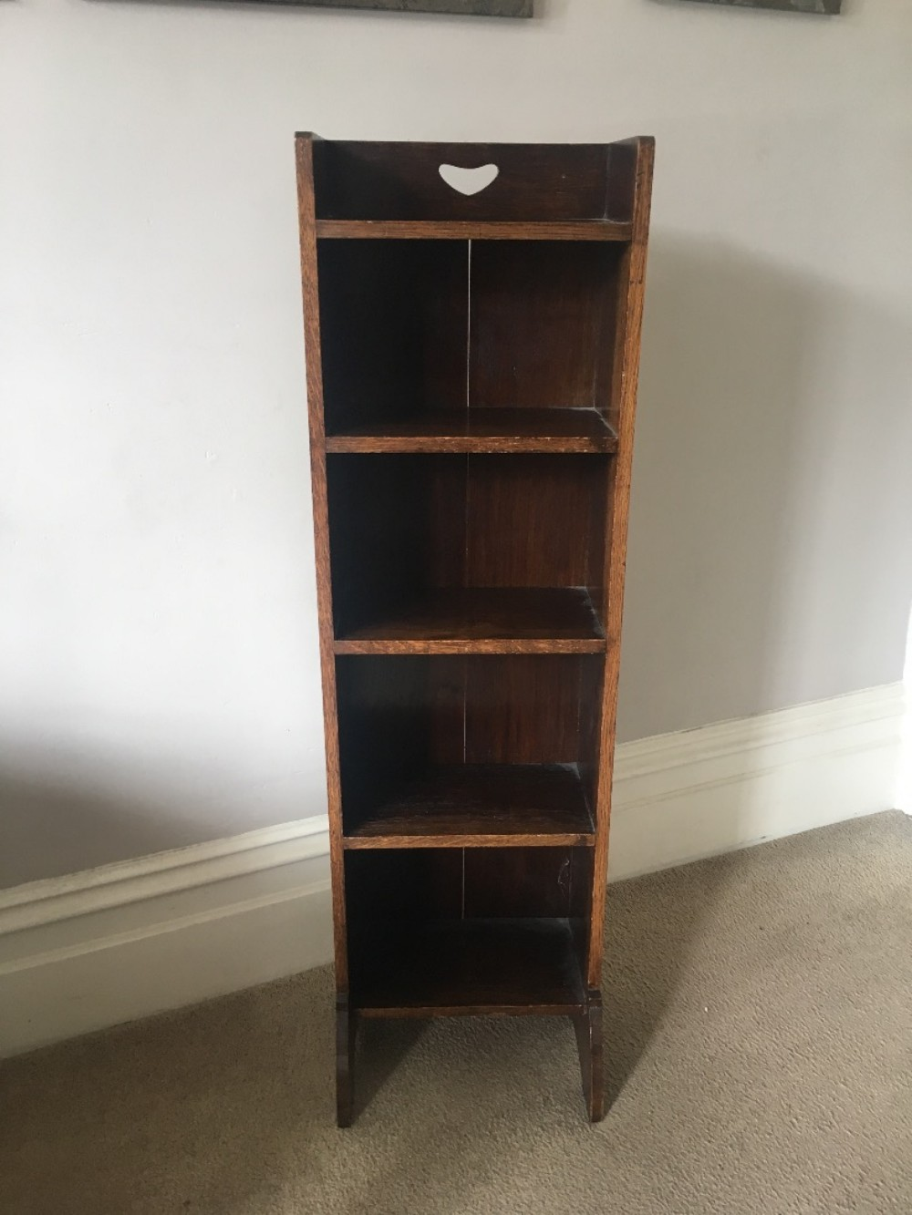 liberty's of london oak bookcase