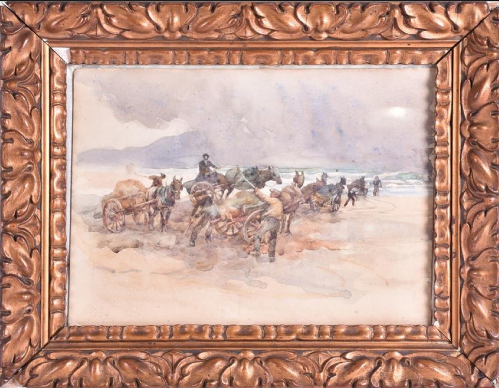 watercolour sand arts to kerry by drew 19th century irish