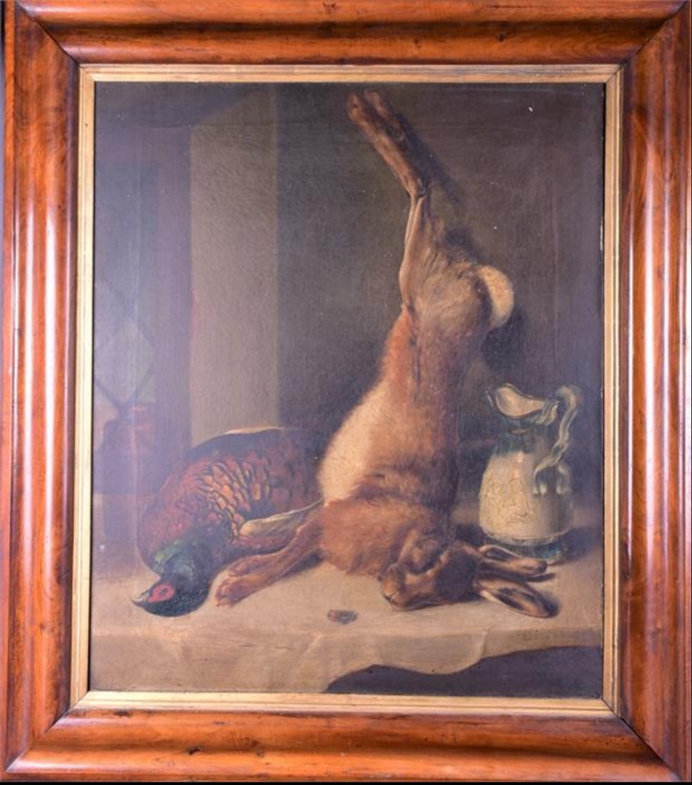 c19th european school still life of game