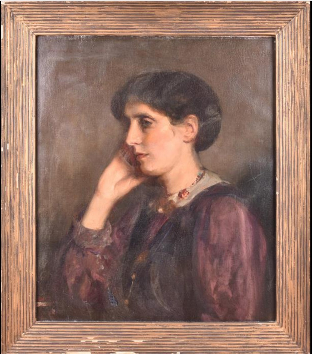 edwardian portrait of a lady