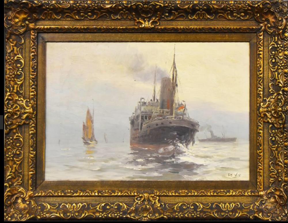 pair of oil paintings by de vos