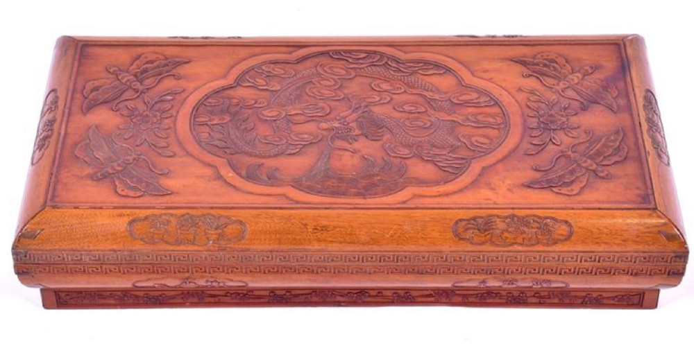 1920s chinese robe box