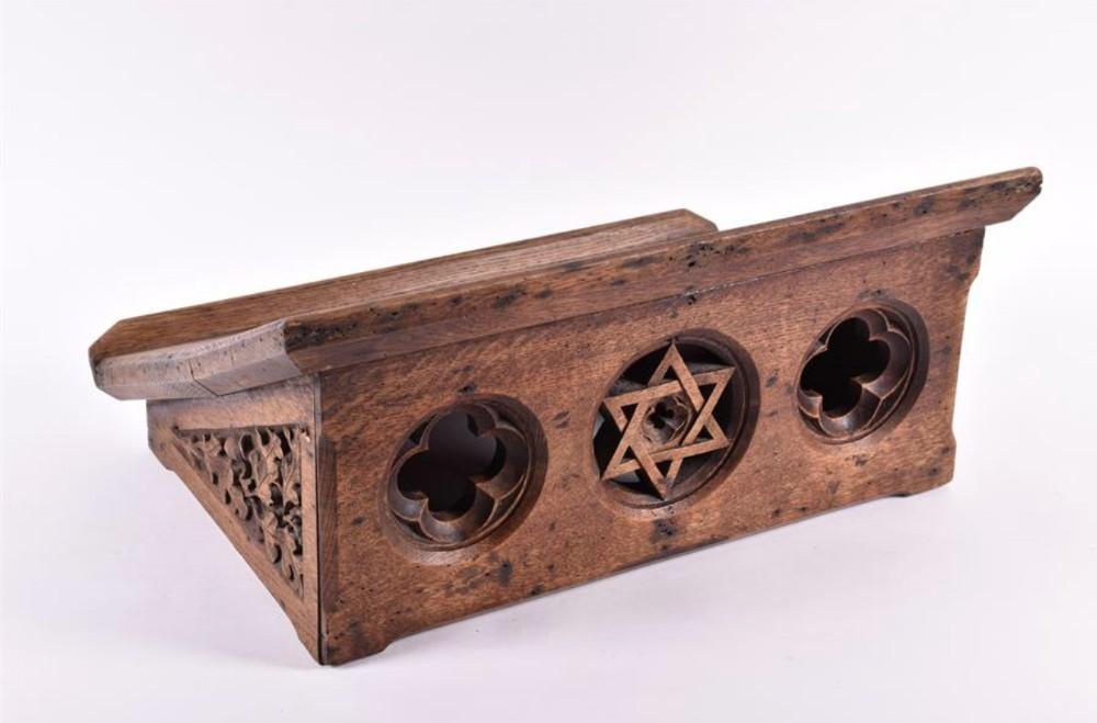 a victorian cotswold ecclesiastical oak lectern
