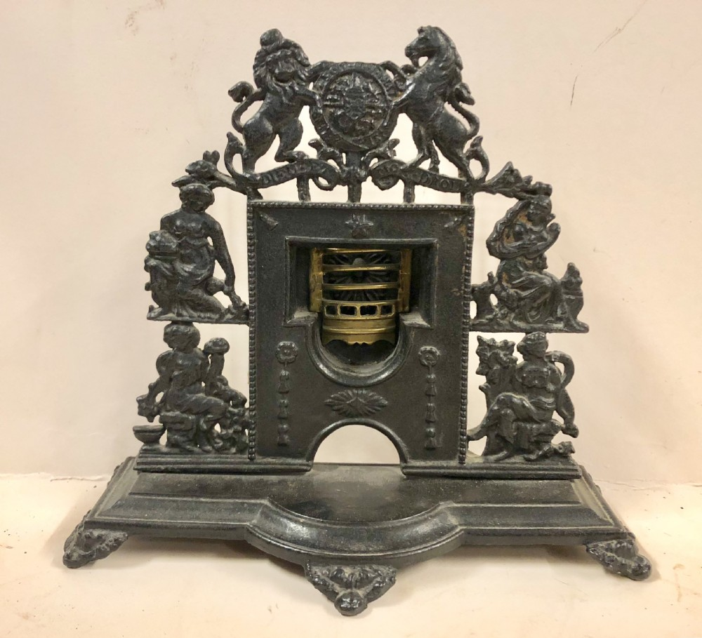 early c19th factory sample miniature fireplace
