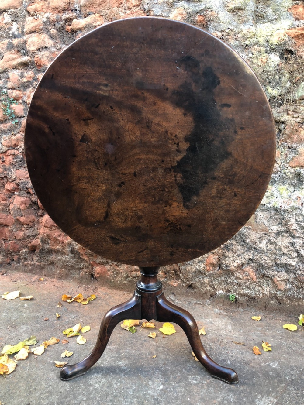 c18th georgian mahogany tripod table