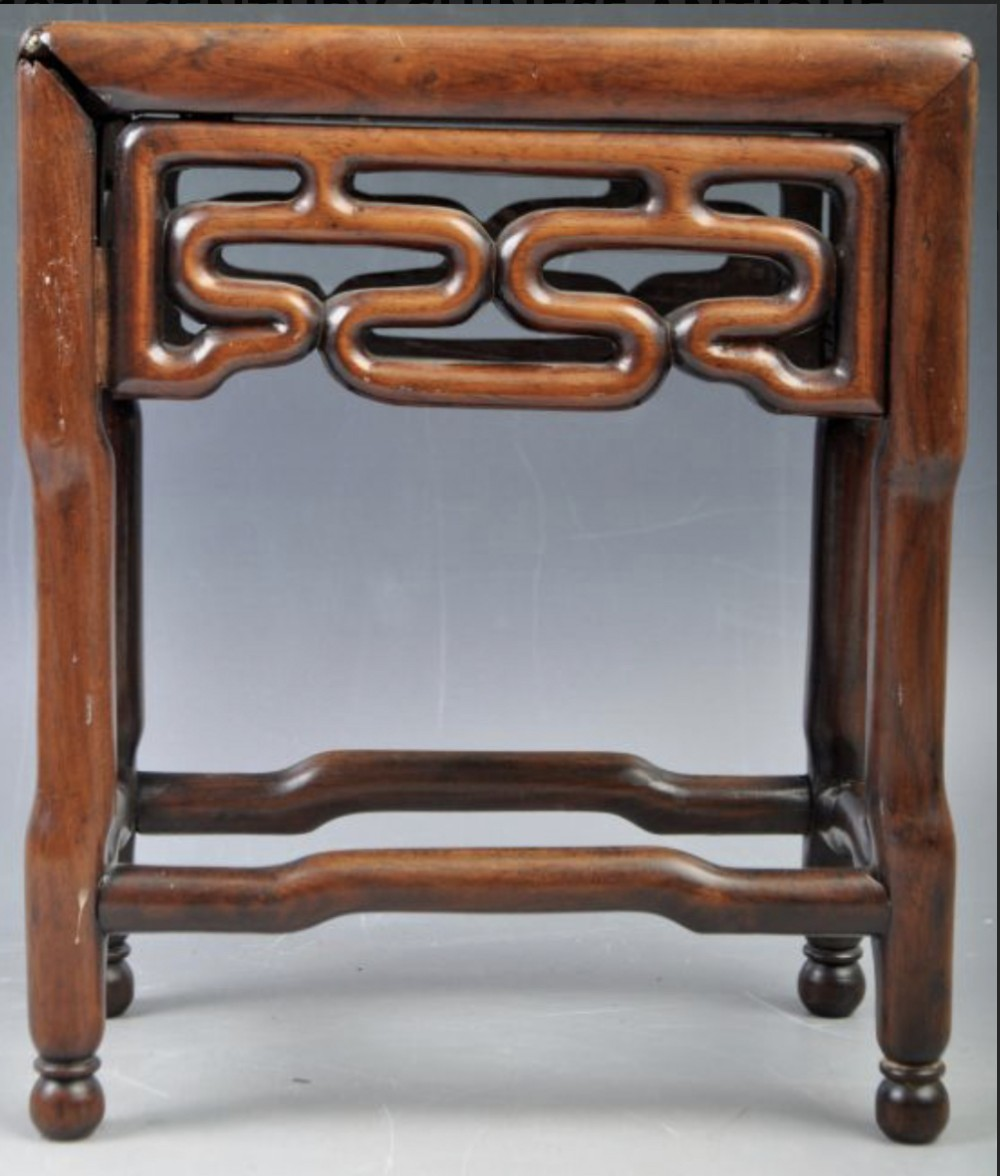 c19th chinese small stand