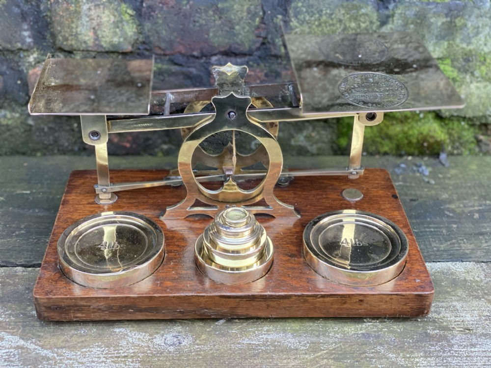 very large letter and postal scales