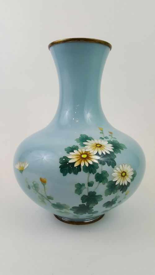 Antique Cloisonne Vases The Uks Largest Antiques Website