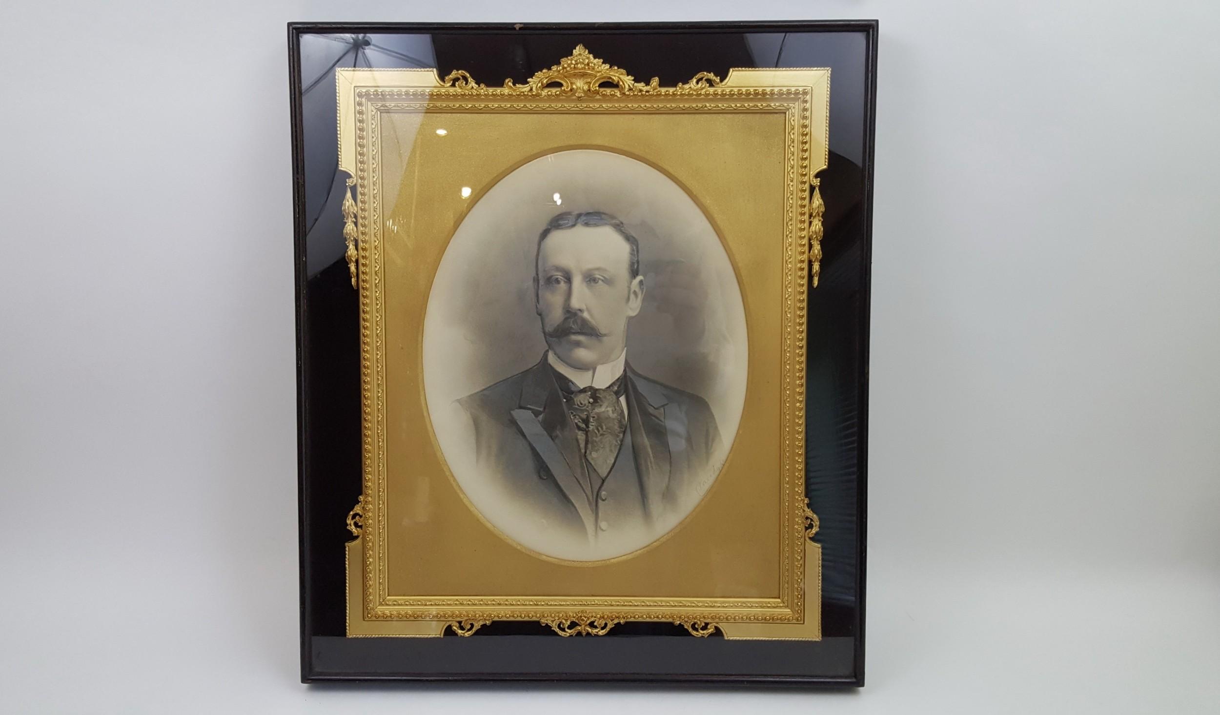 19th century english gilt frame