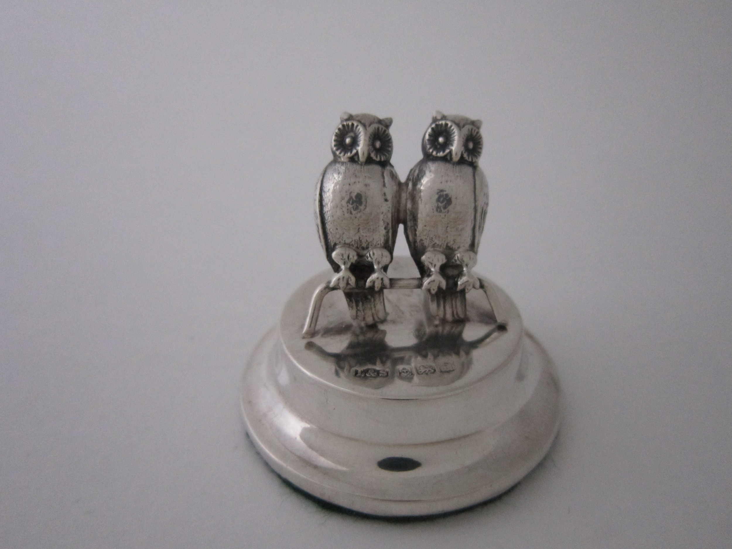 antique edwardian sterling silver menu holder