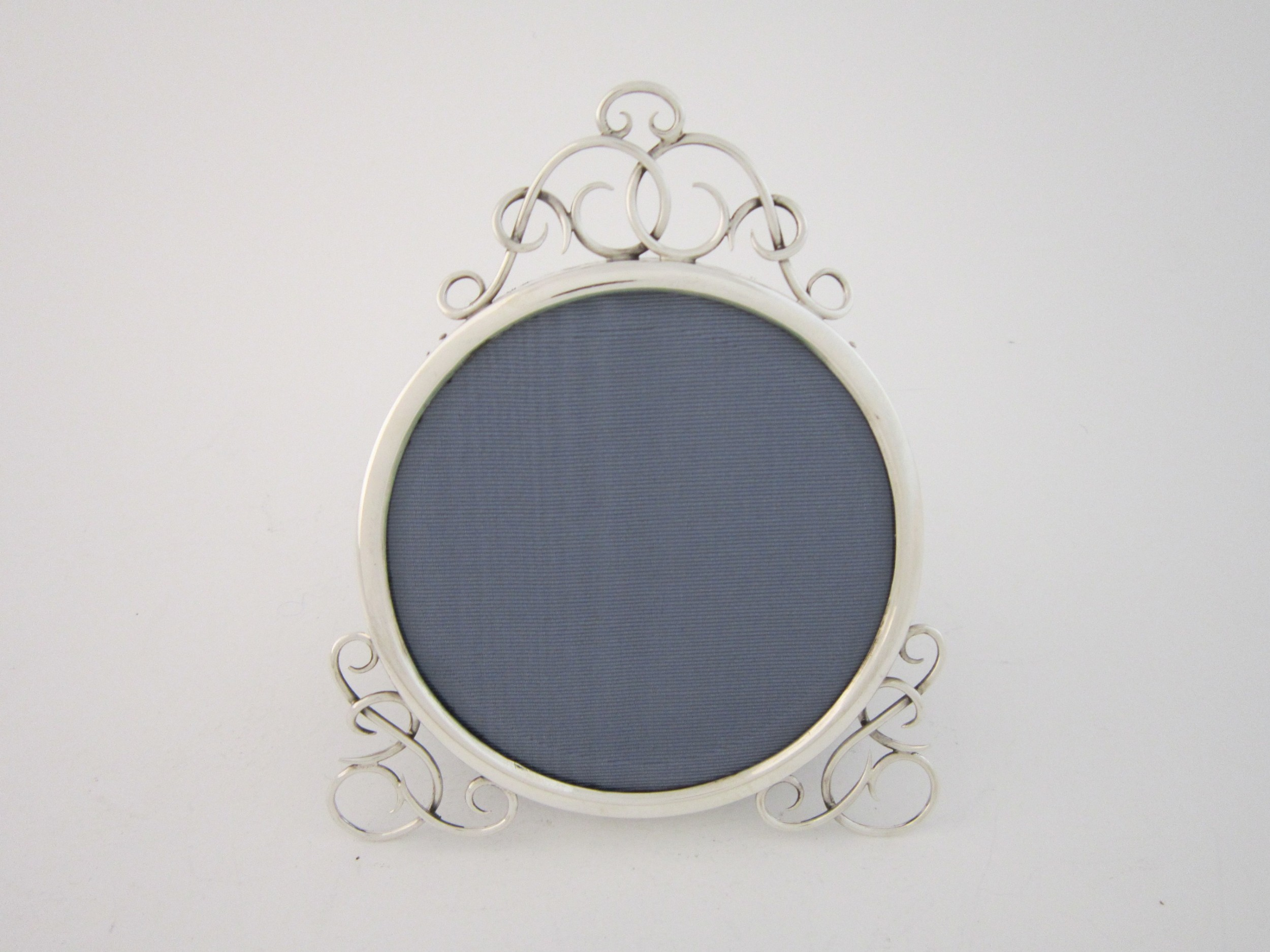 antique victorian sterling silver photograph frame