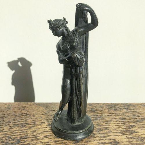 grand tour bronze figurine of the venus callipyge 19th century italian sculpture after the antique