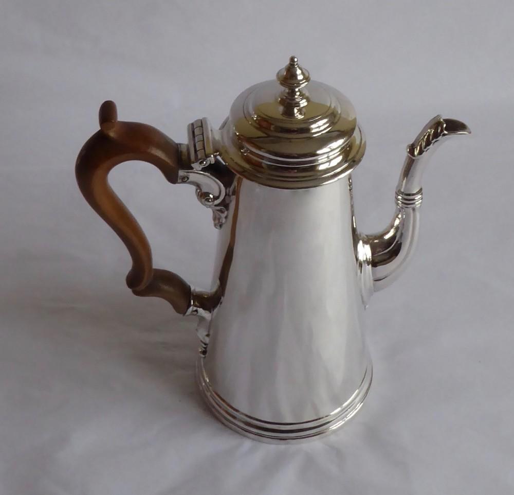 fine george ii coffee pot