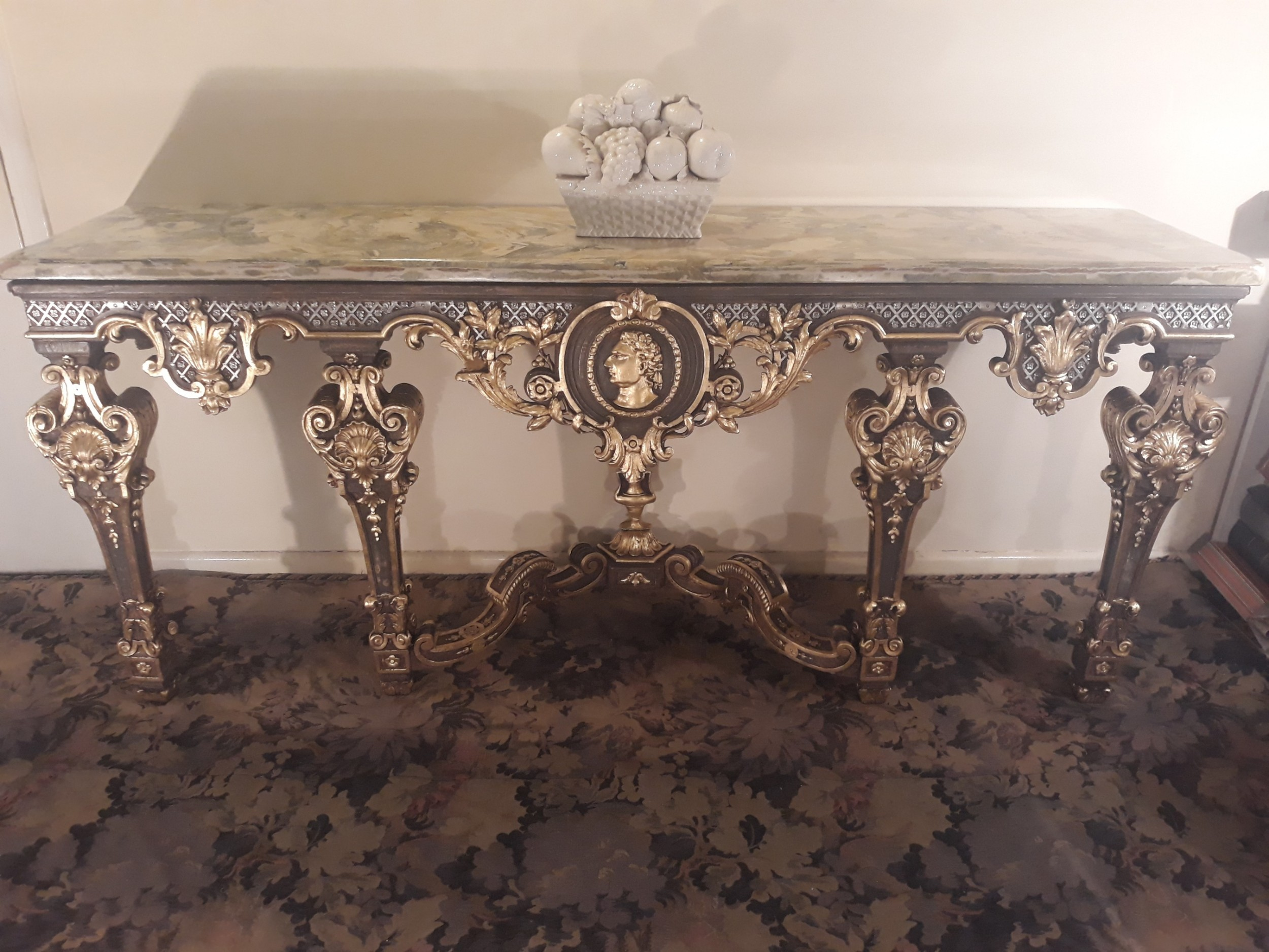 french 18th century carved gilt wood console table louis xiv and later