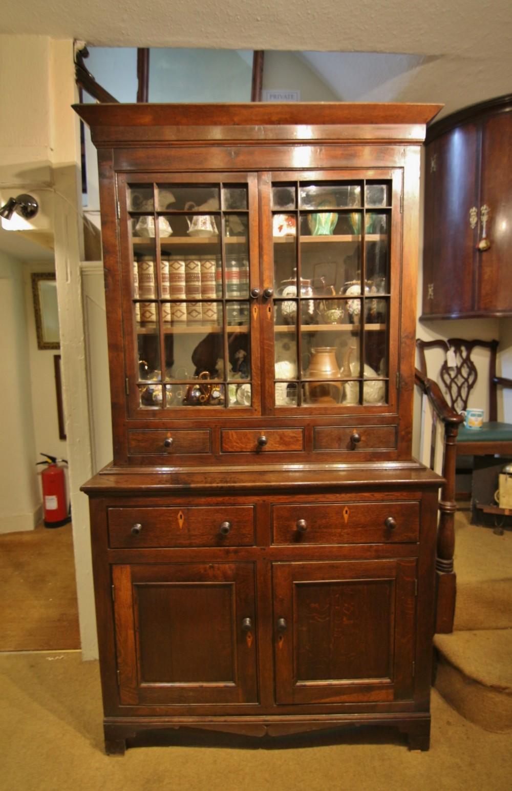small 19th century welsh oak food cupboard