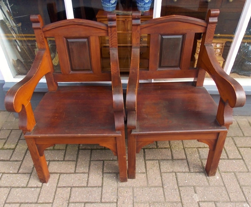 Pair Of Decorative Armchairs | 644676 | Sellingantiques.co.uk
