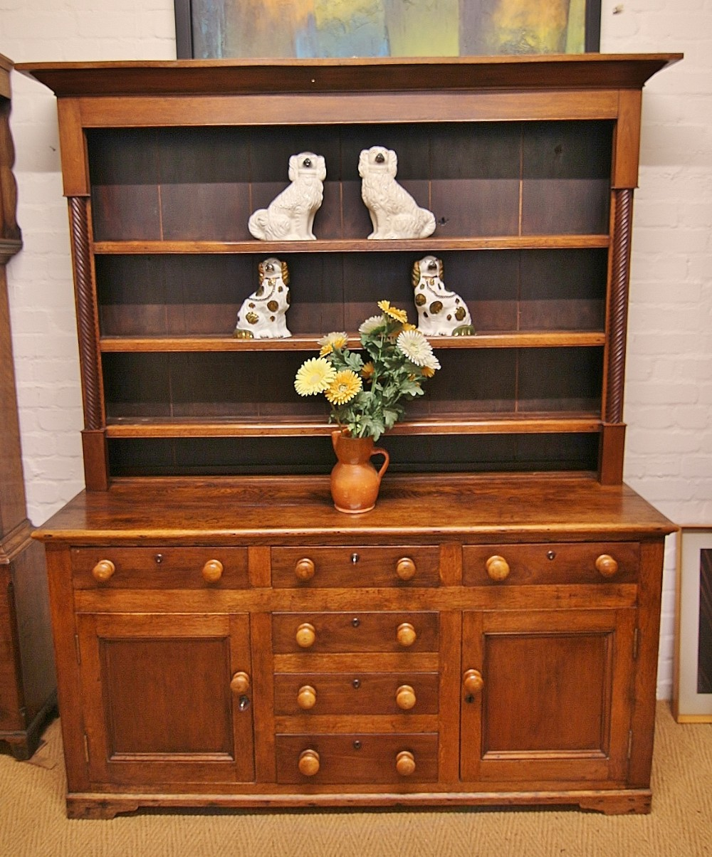 cheerful 19th century welsh oak mahogany welsh dreseer