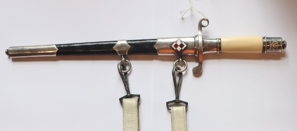 polish flying officers dress dagger