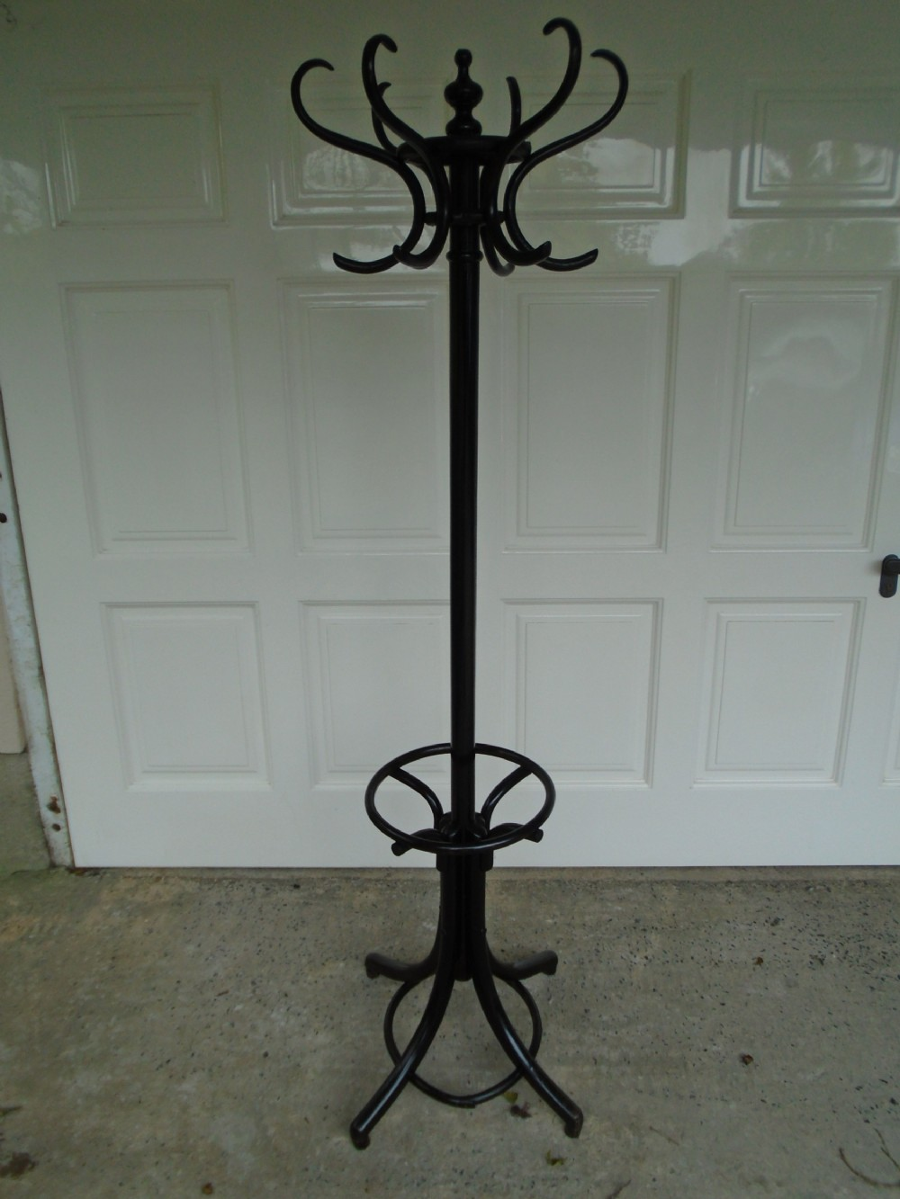 antique bentwood secessionist hat coat stick stand by fischel