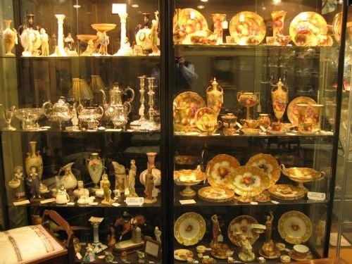 Thumbnail picture of: Small part of our extensive stock of silver, early Worcester and Royal Worcester.