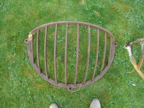 Victorian cast iron half round hay racks