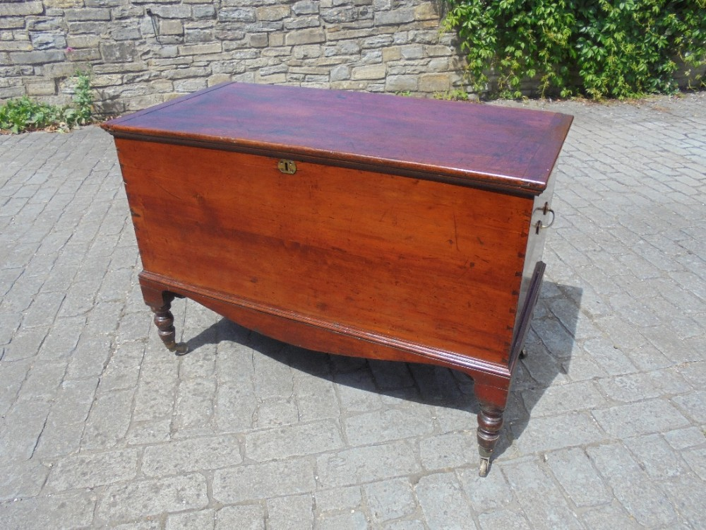 19th century storage chestbox probably from west indies