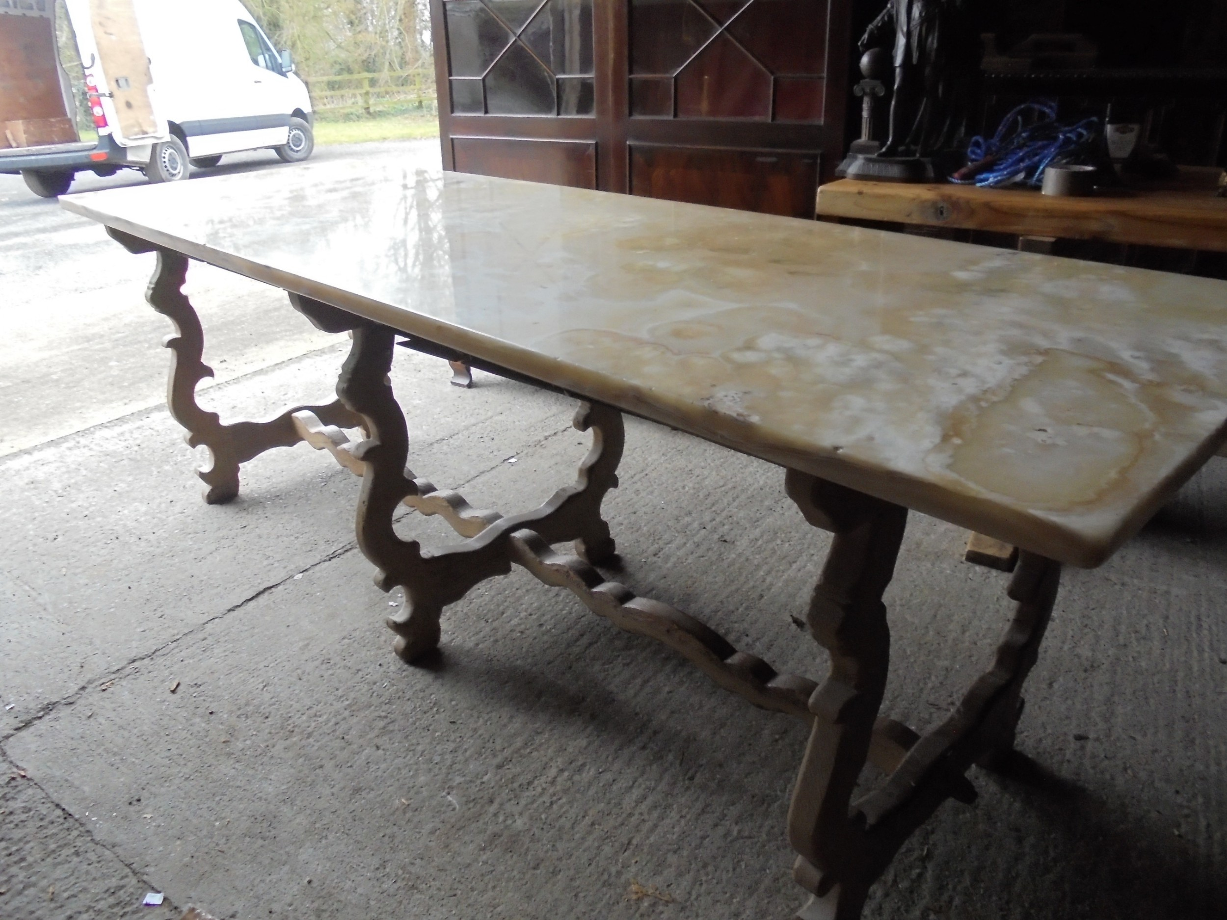 table htm price f dining p round pm twi top with iron curled marble leg