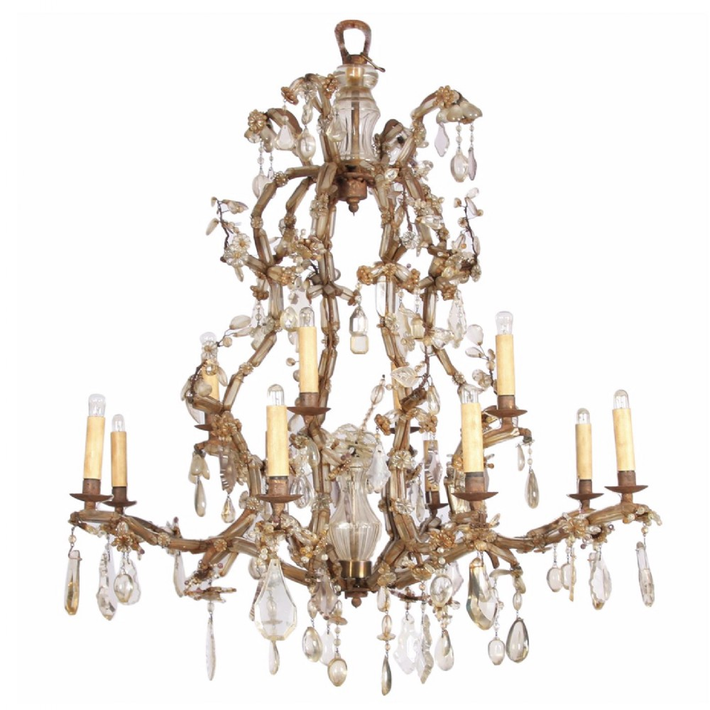 19th century early bagues chandelier