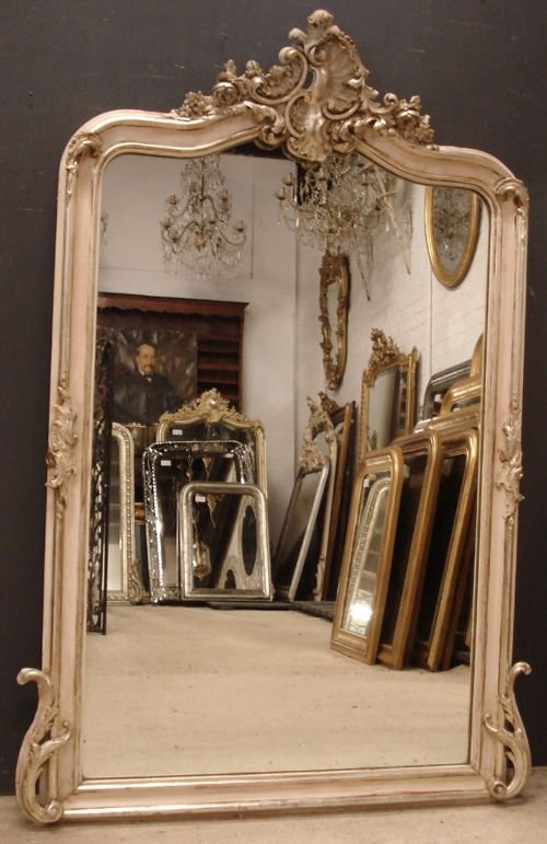 antique french mirror 163044