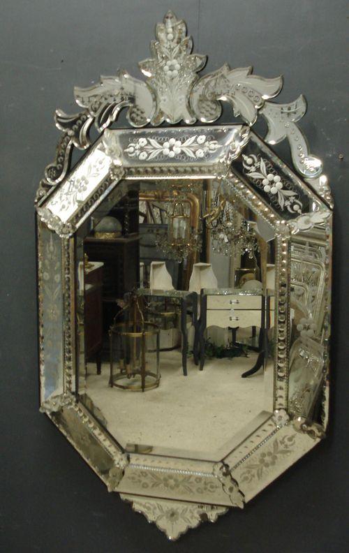 19th Century Venetian Mirror 223091 Sellingantiques Co Uk