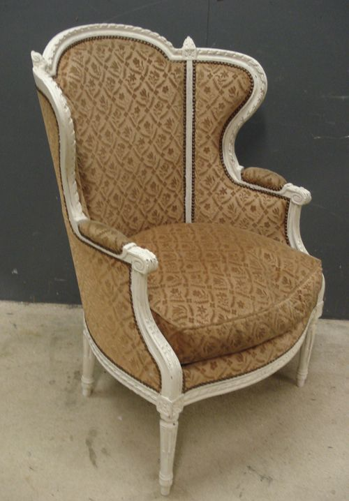 Charmant Antique French Armchair
