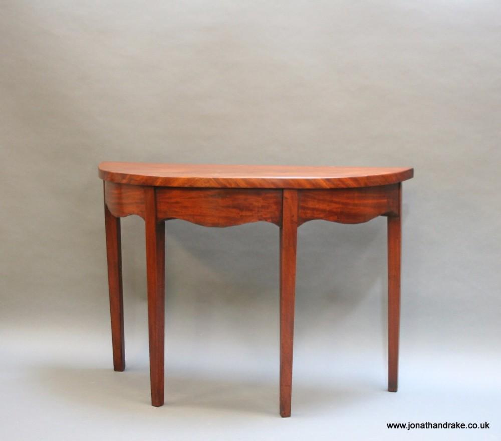 Kitchen Design Centre Lavender Hill: Georgian Mahogany Hall Console Table
