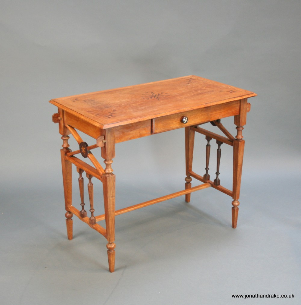 c19th anglo colonial side table
