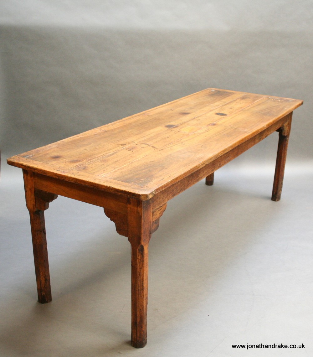c19th french refectory dining table