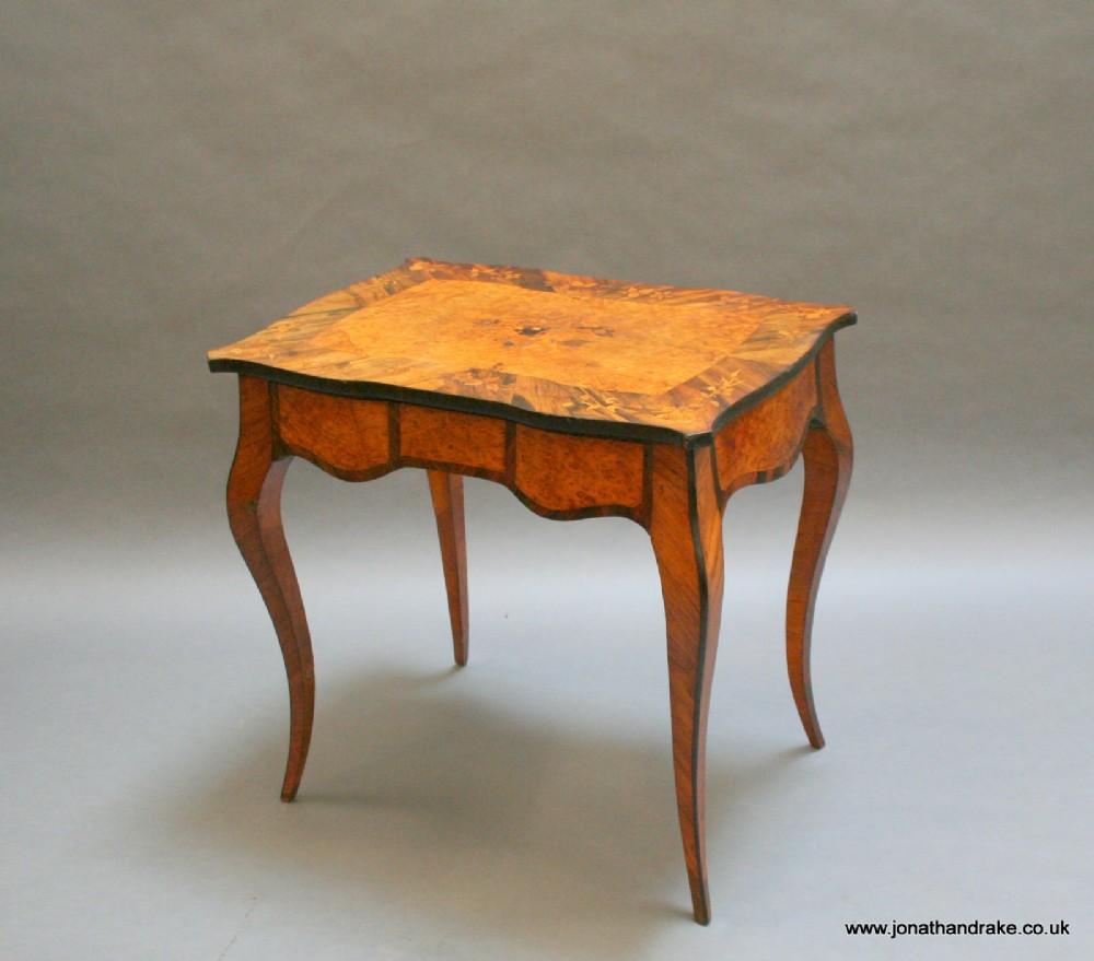 c19th bureau plat writing table