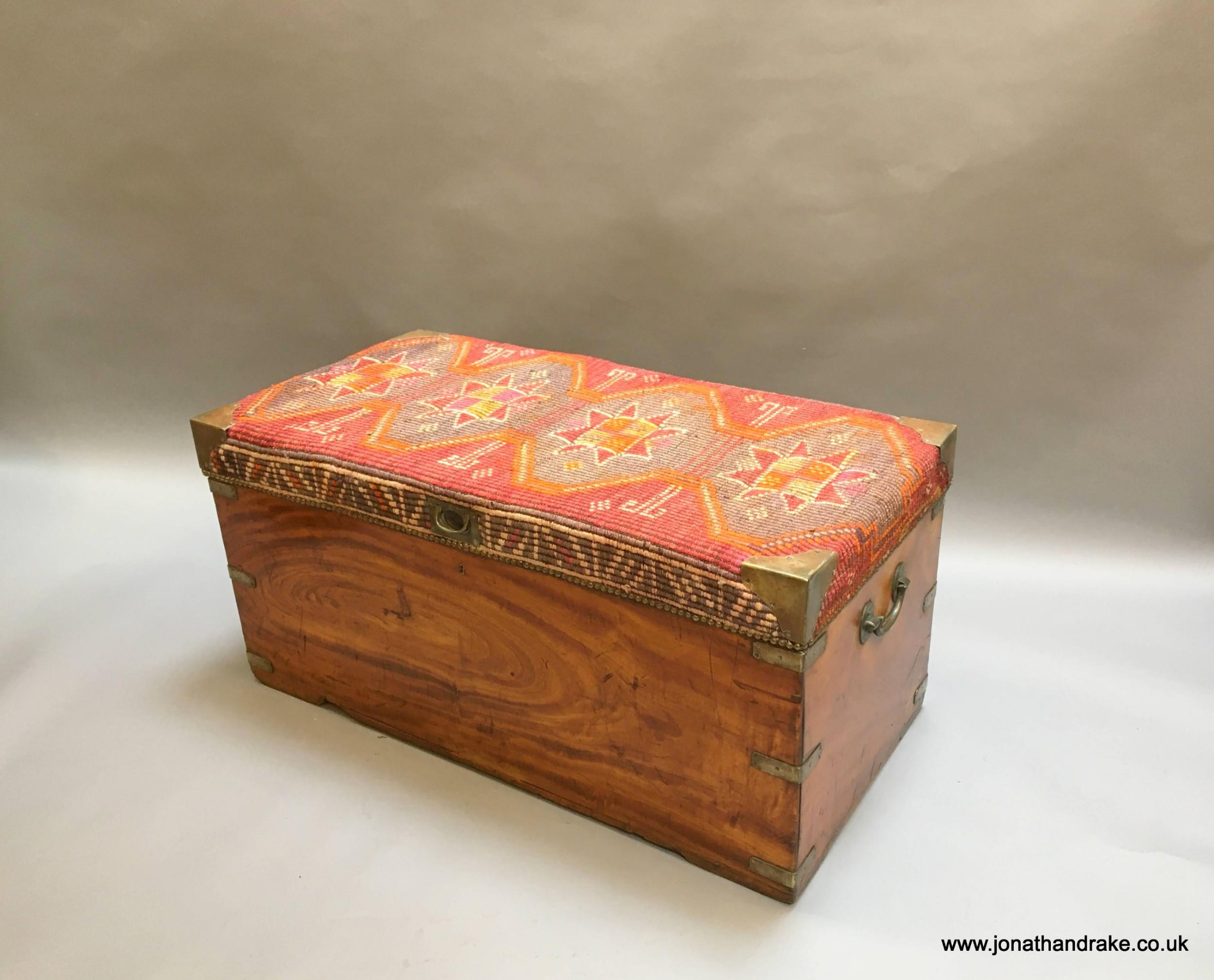 campaign camphor trunk chest
