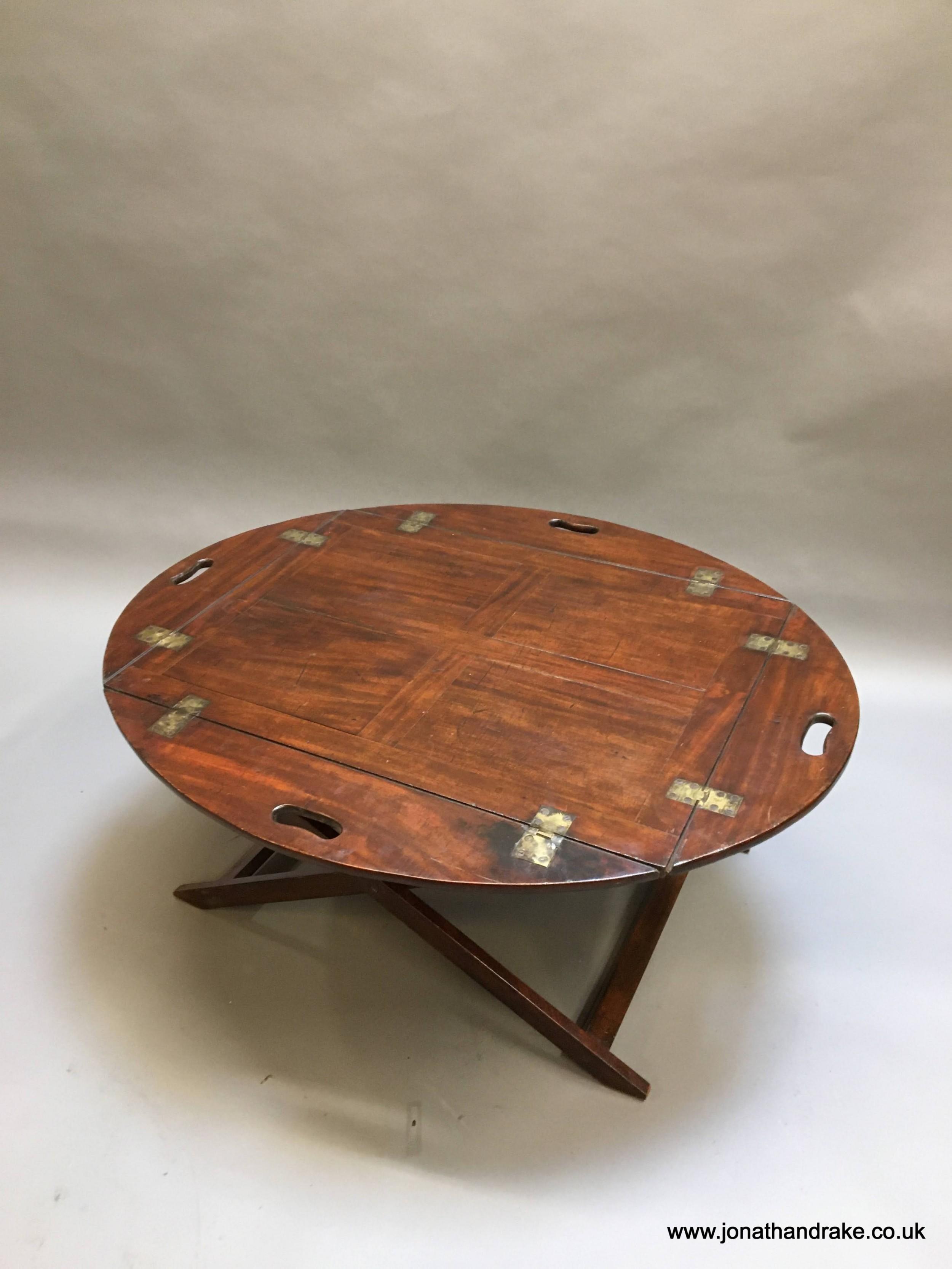 georgian butlers tray coffee table
