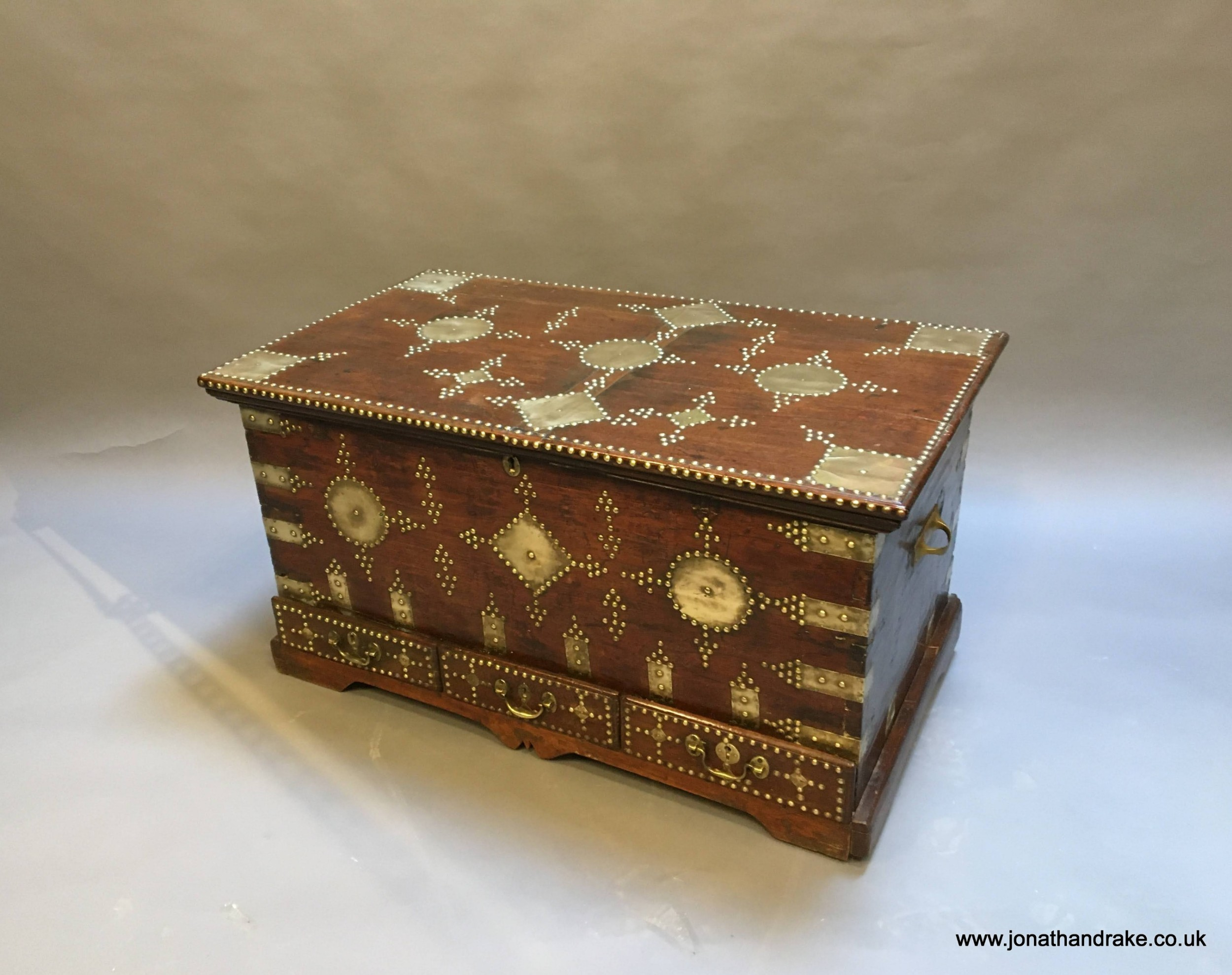 c19th indian trunk chest