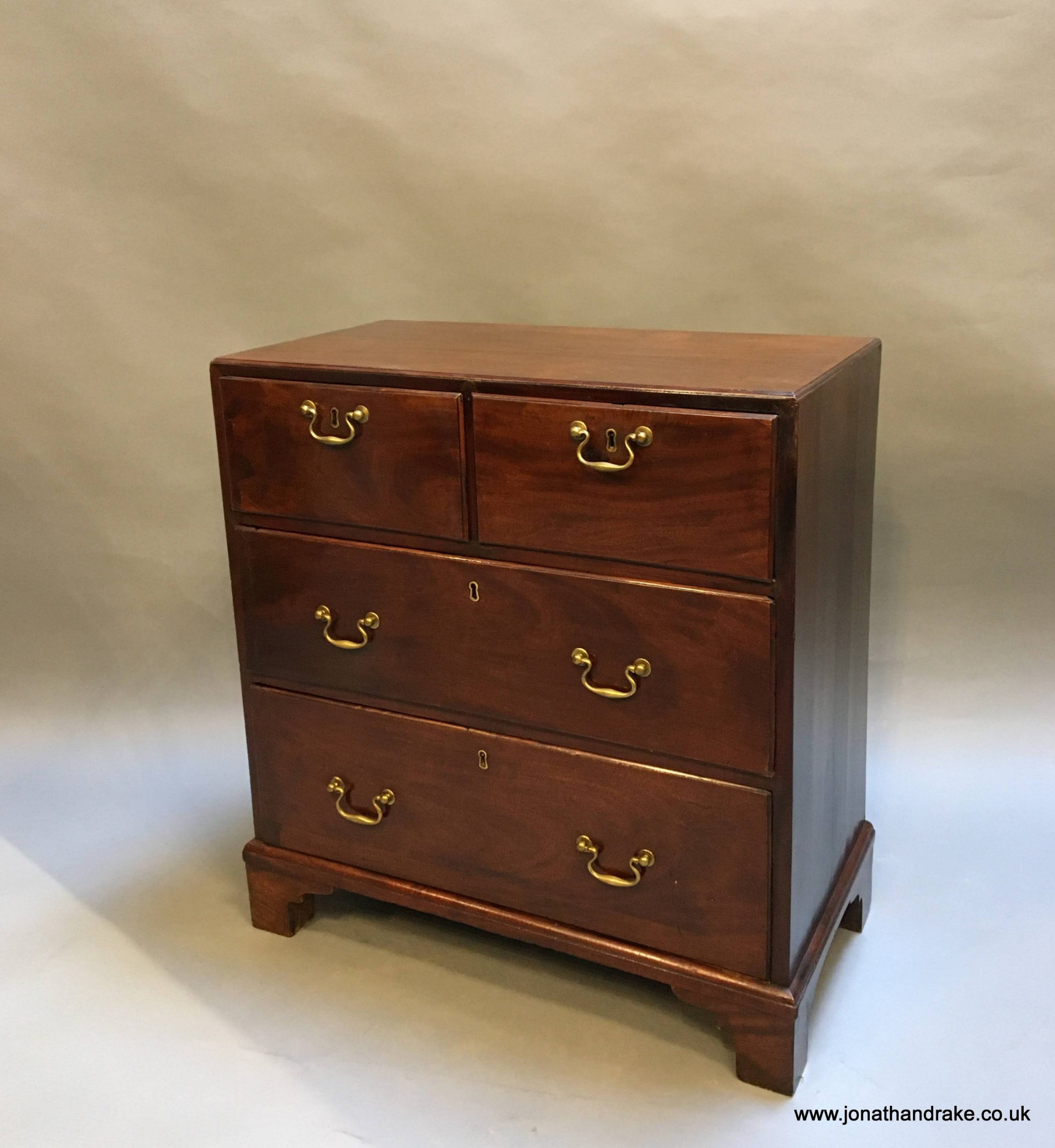 small george iii chest of drawers