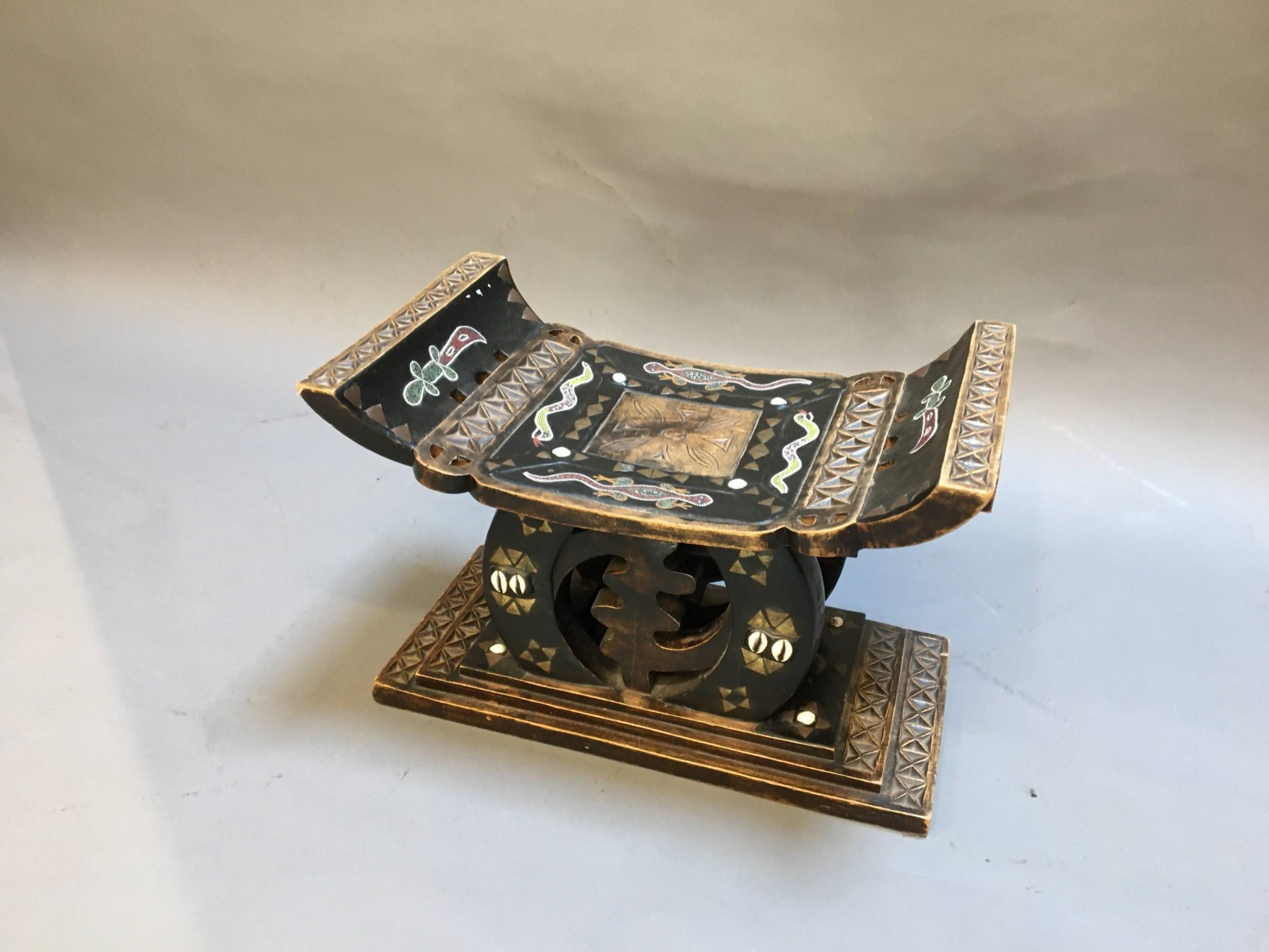 ashanti tribal stool