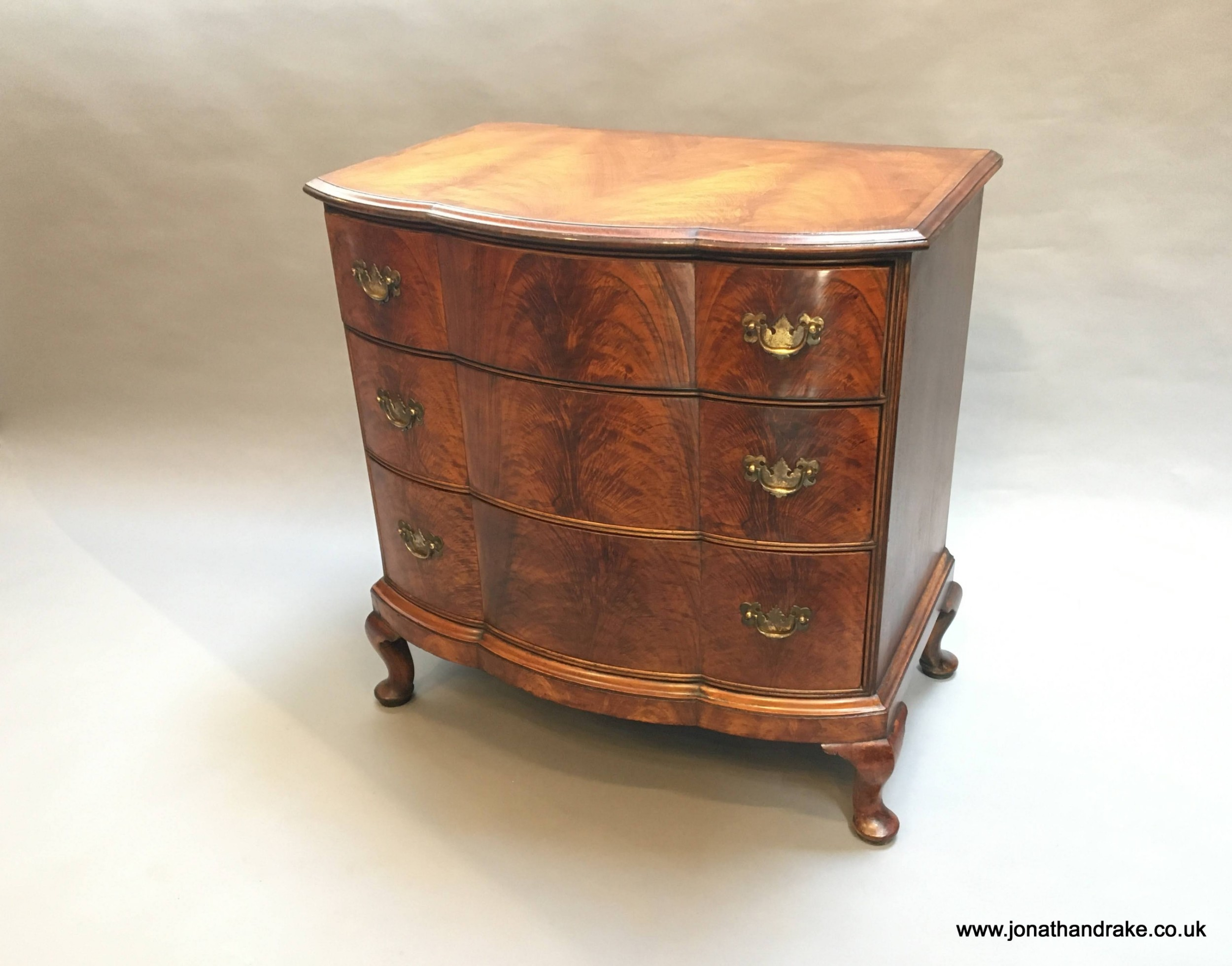 queen anne revival chest of drawers