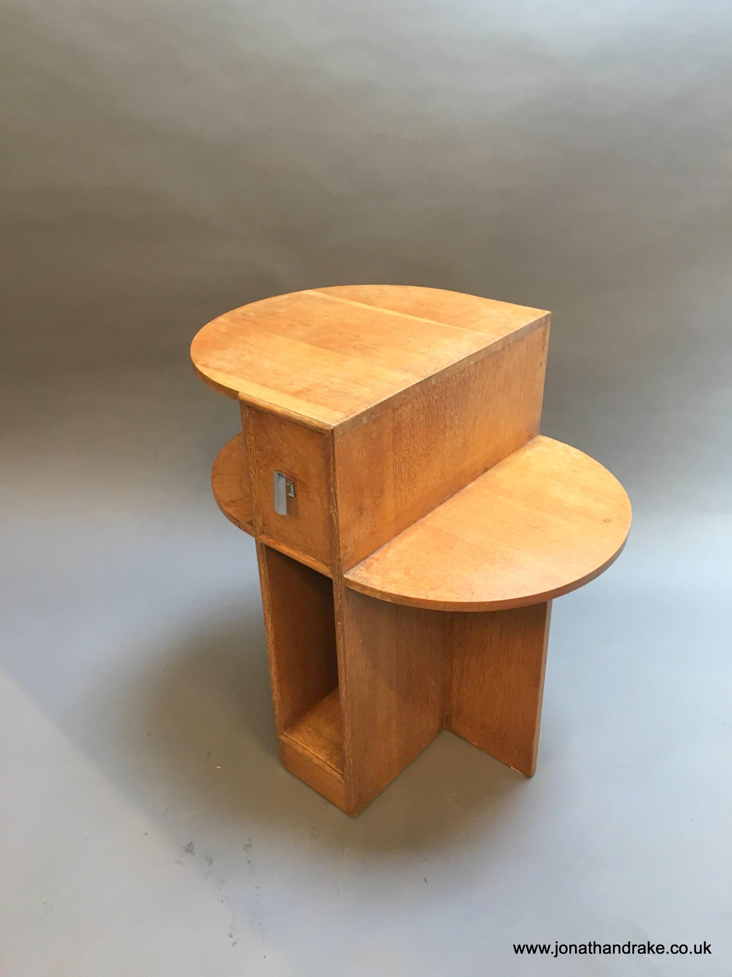 art deco heals table