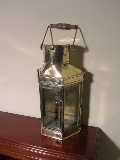 Ships Lantern Wall Lights : Lighting at AJD Antiques - Stock