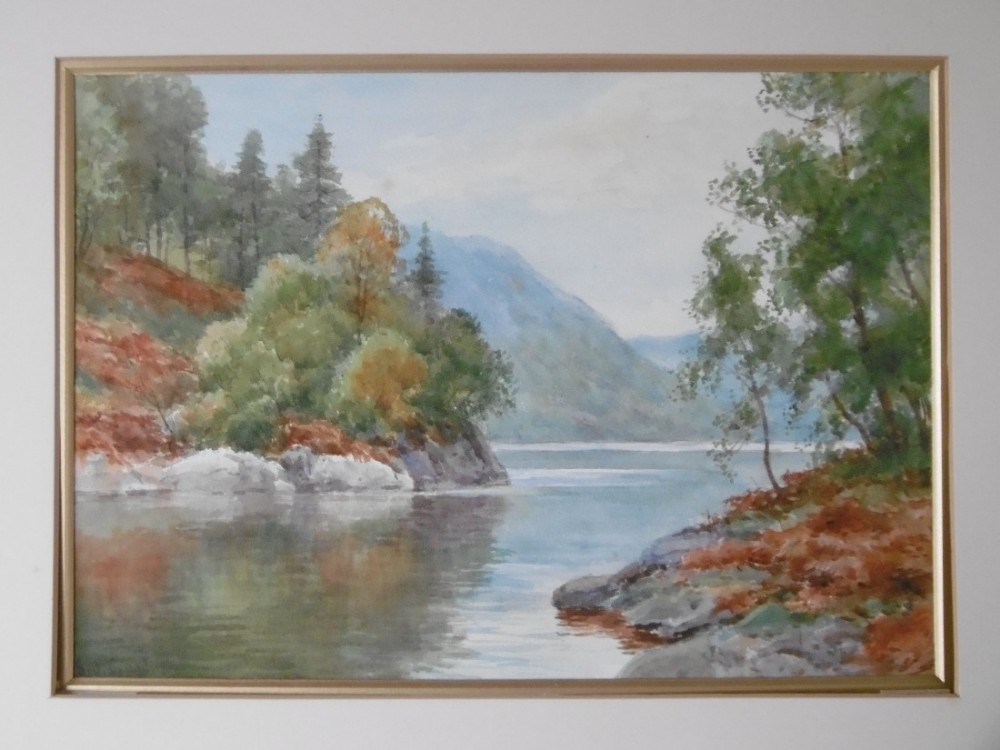scottish watercolour by sid gardner