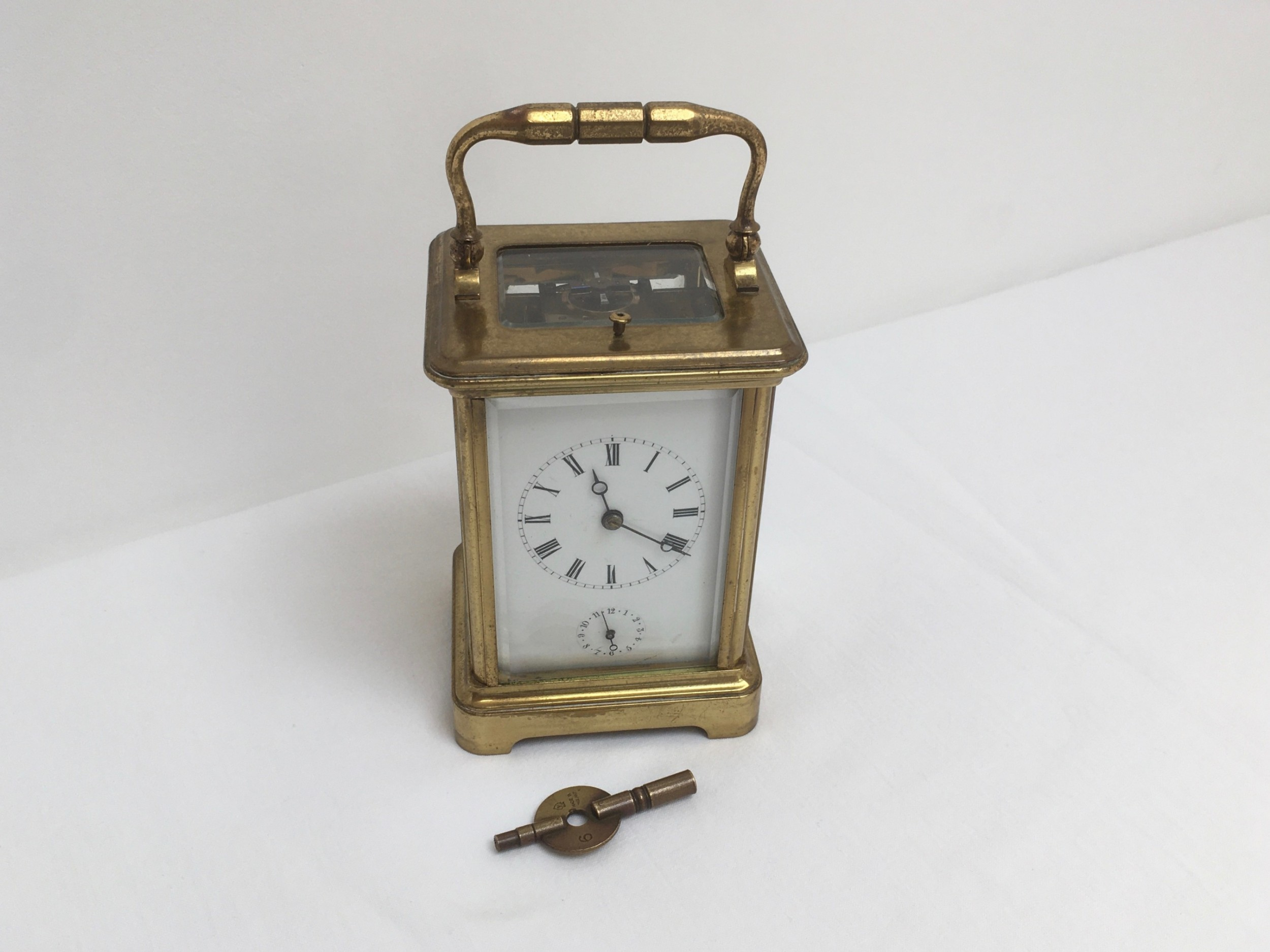 repeater carriage clock with alarm
